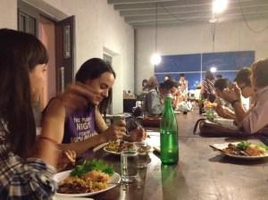 El Departamento de la Comida catering event — just one of the ways the hub serves its community