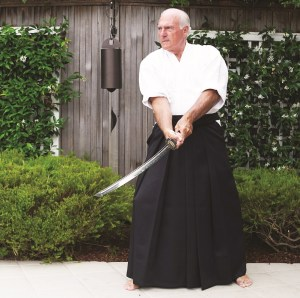 Taum DellArmo with sword