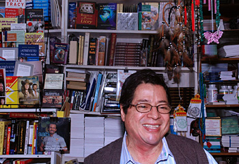 Ildefonso Lopez, the owner of Librería Continental, believes there will always be a market for Spanish-language books.