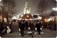 Midnight at Woodbury Common
