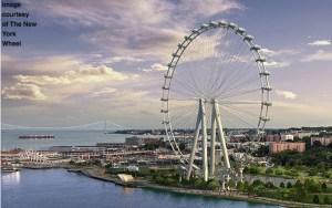 Proposed plan of the Staten Island Ferris Wheel By New York Wheel LLC