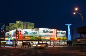 Established in 1916, Nathan's is perhaps the best-known hotdog restaurant in the world. Photo by Emma Kazaryan
