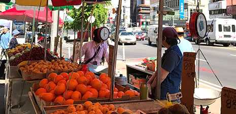 Chinatown's Fruit Stands feature