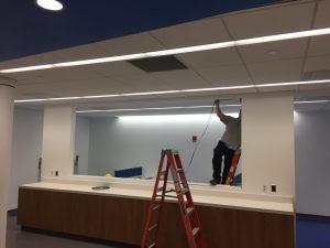 Wiring Help Desk Staff Area