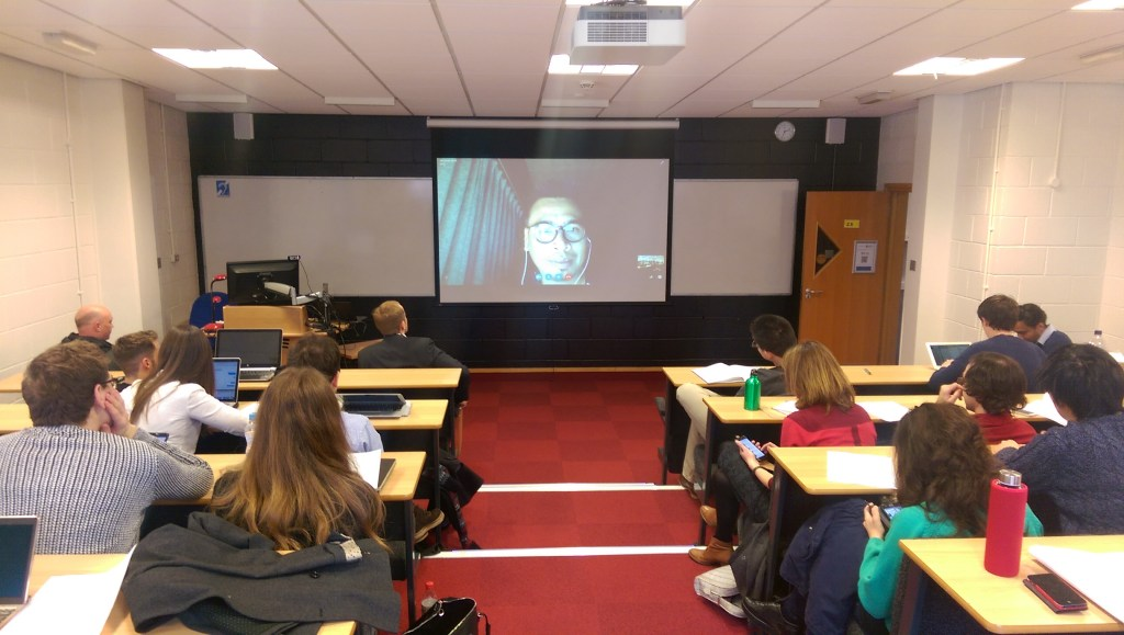 Skype Lecture 8 March 2016
