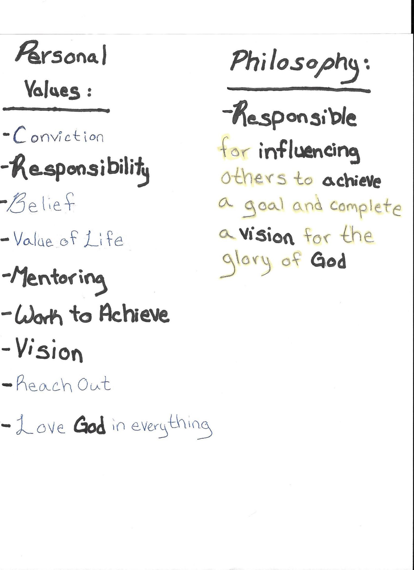 November 17 Leading In Life