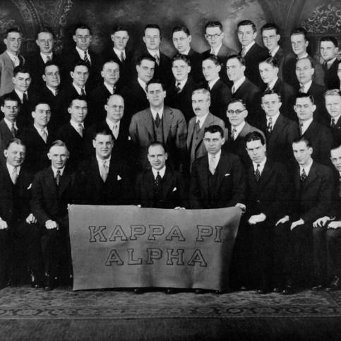 1932 BenBoo_Kappa Pi Alpha Frat003