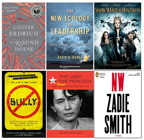 October 2012 Selected New Titles