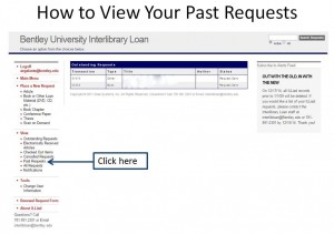 Login to your ILLiad account to view your past requests