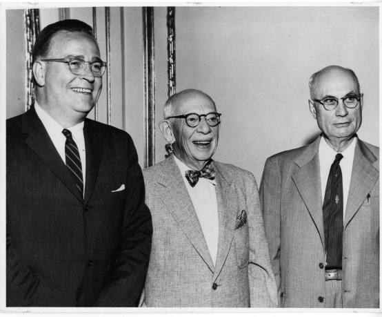 Bentley's first three presidents