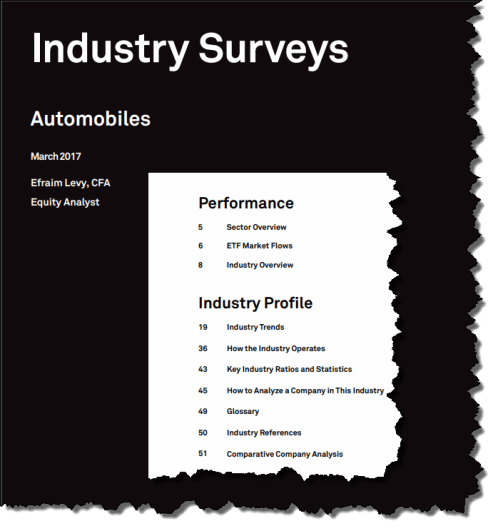 automobile industry survey