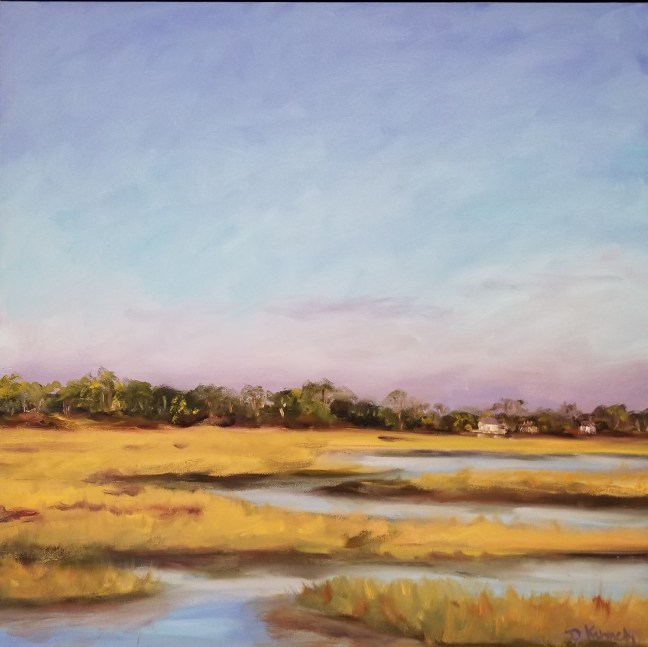 Gray's Beach Marsh by Debra Kennedy