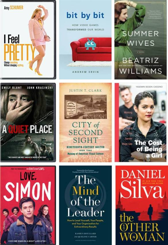 July 2018 New Titles