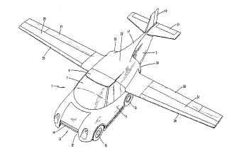 Steve van Dulken's Patent blog: Out of this world: flying