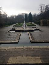 Cartwright Hall formal garden.