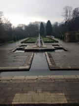 Cartwright Hall formal garden.
