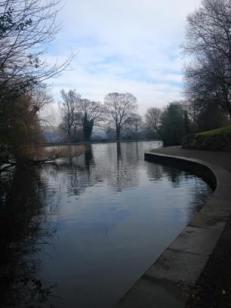 Lister Park lake.