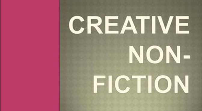 CREATIVE NONFICTION FROM ELAINE PITOCHELLI:  HUMOR & PATHOS
