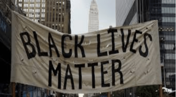 BLACK LIVES MATTER:  White on Black in Black and White by Marty Kafka