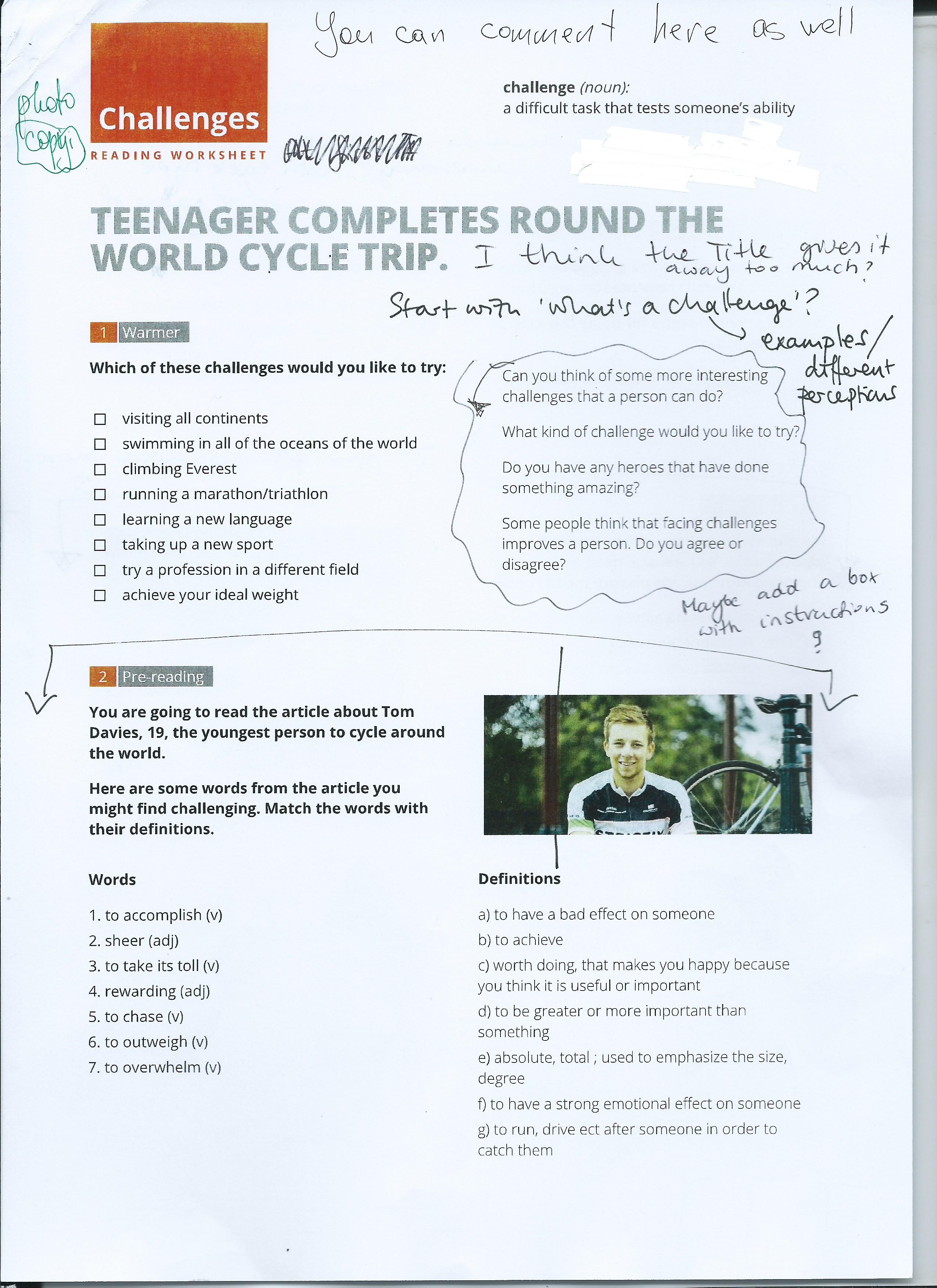 Designing A Worksheet Part 2