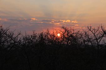 Koppie sunset