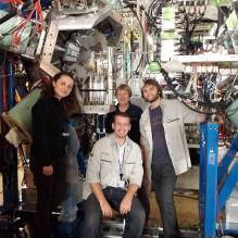 Frank with colleagues and RIKEN-1qrhce3