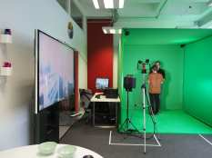 Immersive Discovery Day demo with University of Brighton Media and Environmental Communication students