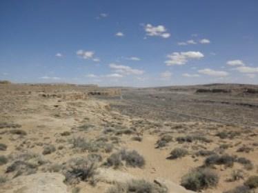 Chaco's desert setting