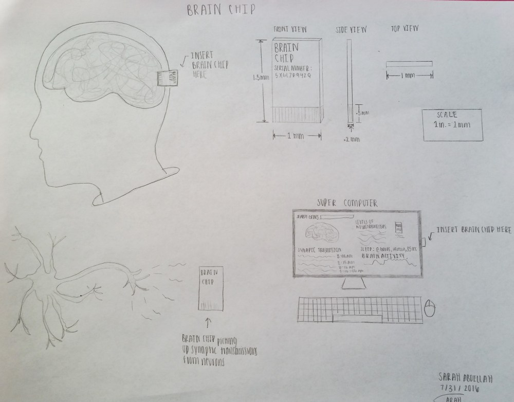 medium resolution of my new piece of technology is called a brain chip which has the ability to measure activity in the brain as well as remove genes that are thought to be