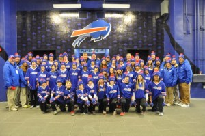 Group Photo in Front of Lockerroom