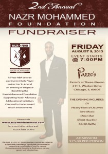 The Nazr Mohammed Foundation 2nd Annual Fundraiser