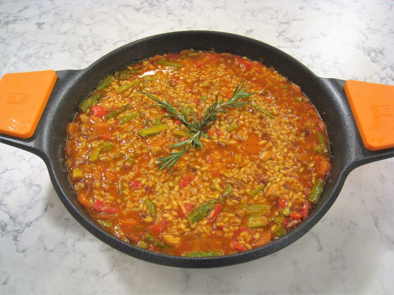 Arroz campero con pollo
