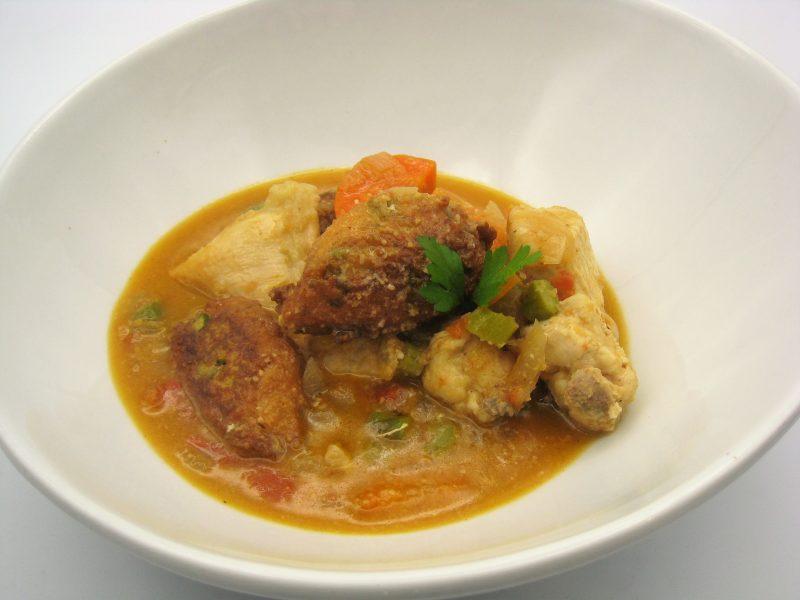 Pollo en salsa «migá»