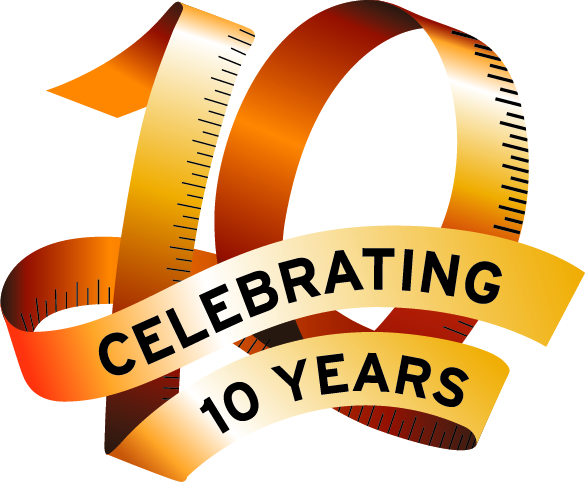 Join Us in Celebrating 10 Years Online! Wine and Appetizers! Oct 13 at 3:30pm