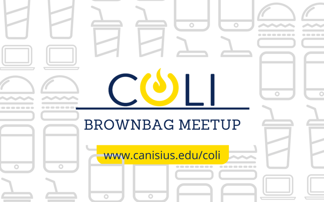 Upcoming COLI Brownbag Meetup: October 25th