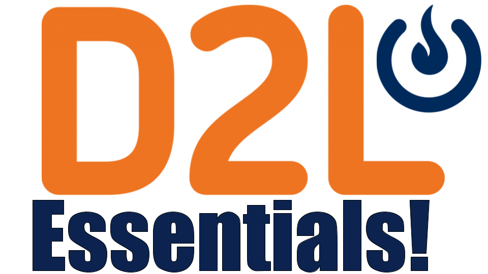 COLI Workshop: D2L Essentials