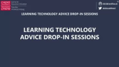 LT Drop in sessions