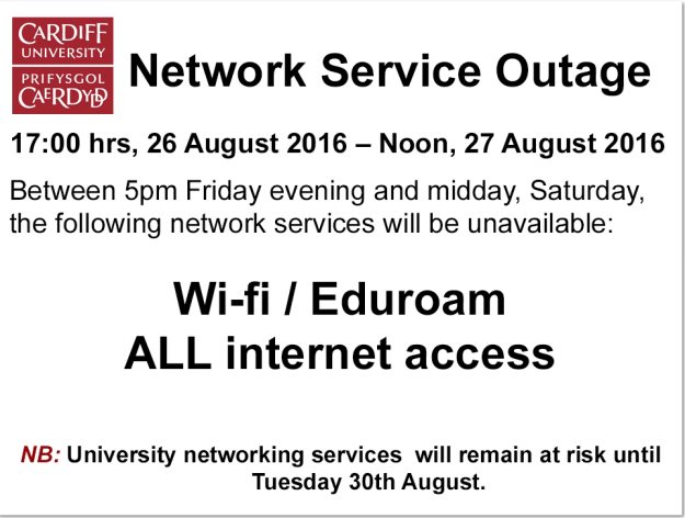 network service outage