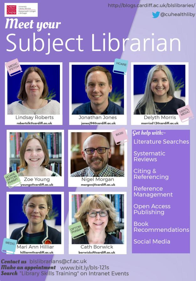 BLS subject librarians