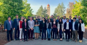 PhD student, Caer Smyth, attends early career conference at Stanford University (10-11 May, 2019).