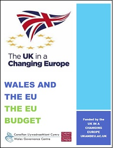 Wales and the EU: the EU budget / Wales Governance Centre