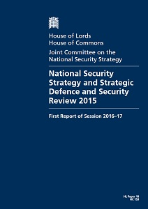 National security strategy and strategic defence and security review 2015 / United Kingdom: Parliament