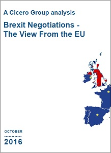 Brexit negotiations - the view from the EU / Cicero Group