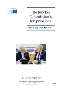 The Juncker Commission's ten priorities: State of play at the start of 2017 / Euuropean Parliament