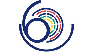 Logo of the 60th anniversary of the signing of the Treaty of Rome