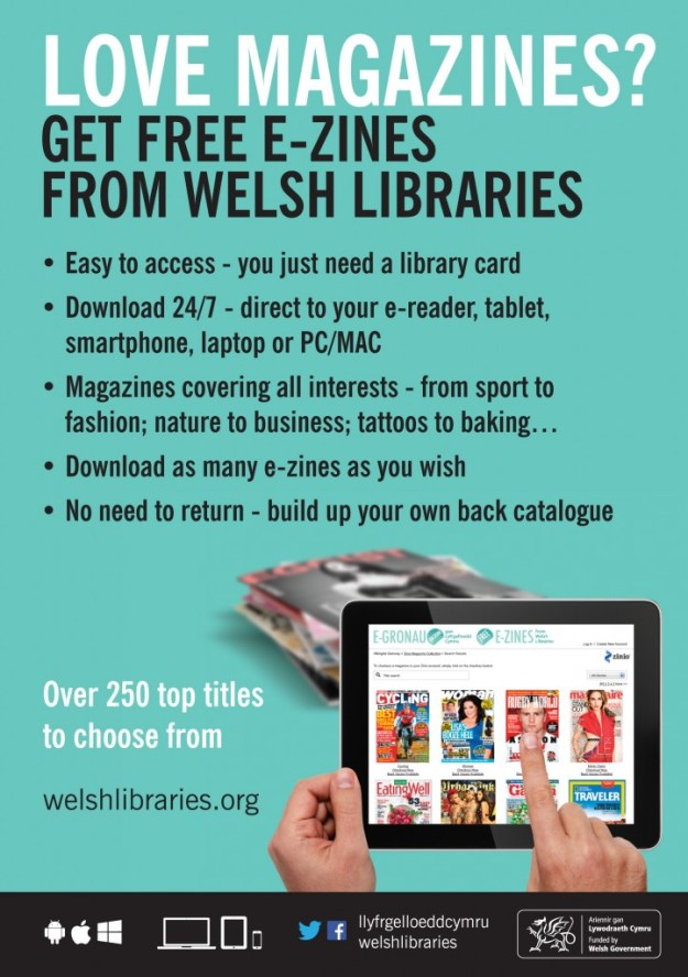 Free E-Zines from Welsh Libraries