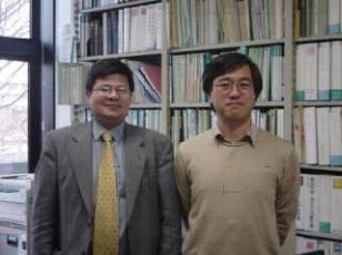 With Professor Tanaka at Tohoku University