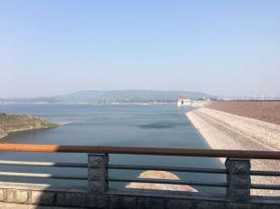 Lookingupstream of the XLD dam