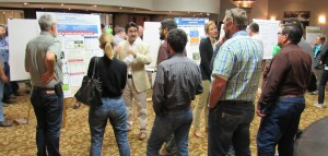 Photo of group from poster session