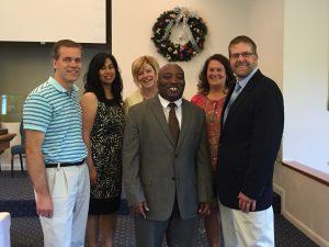 Pastor Seth Johnson leads Faith Baptist Church in Manchester CT. He enjoys bringing CU alum together!
